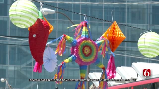 Tulsans Celebrate Cinco De Mayo With Street Party Downtown