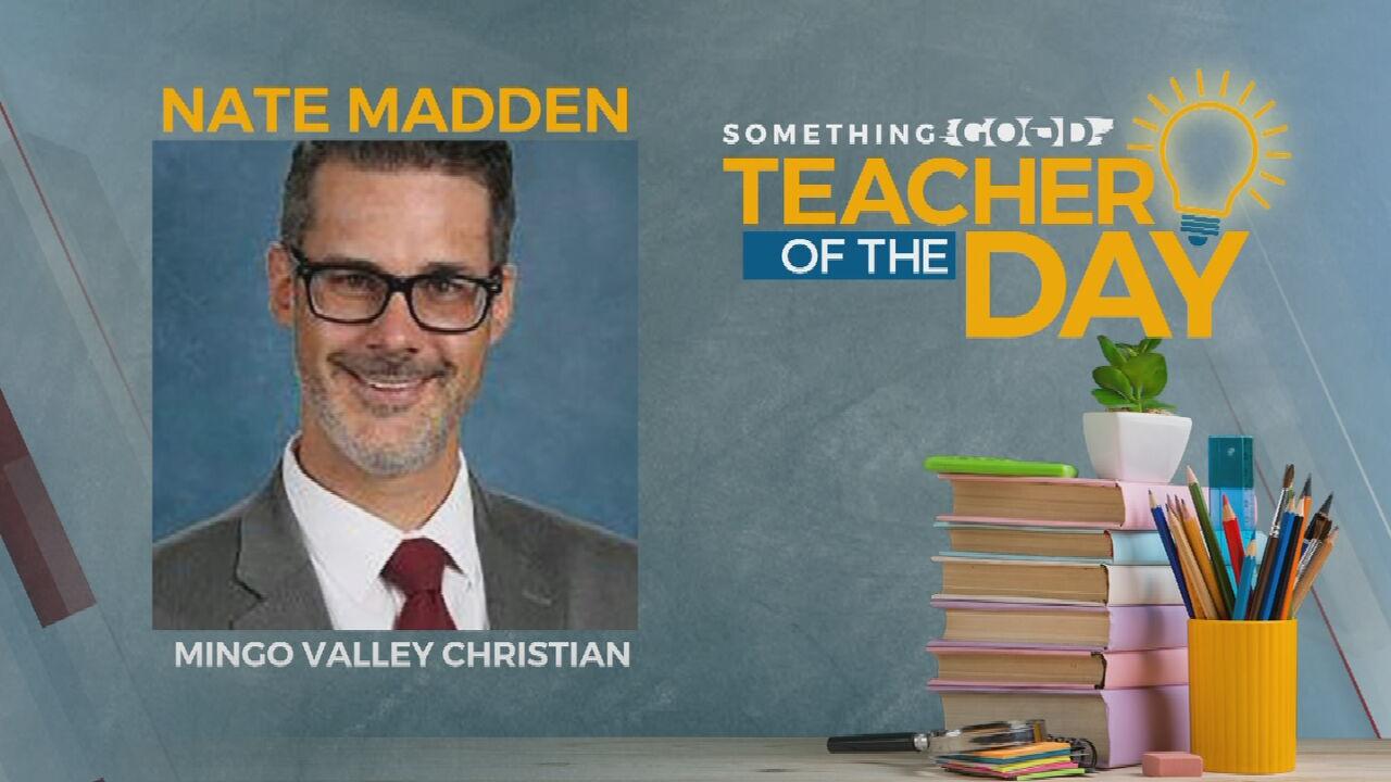 Teacher Of The Day: Nate Madden
