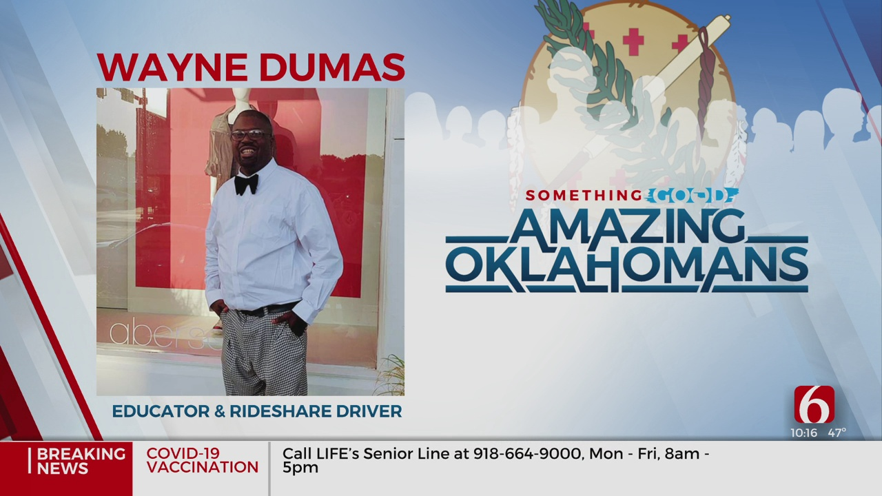 Amazing Oklahoman: Wayne Dumas