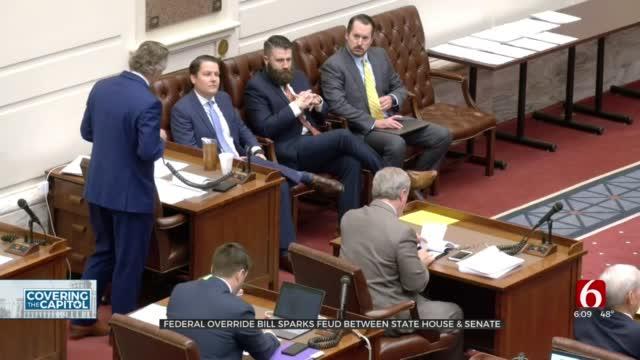 Relationship Between Legislature's Top Republicans Turns Icy Over Federal Override Bill