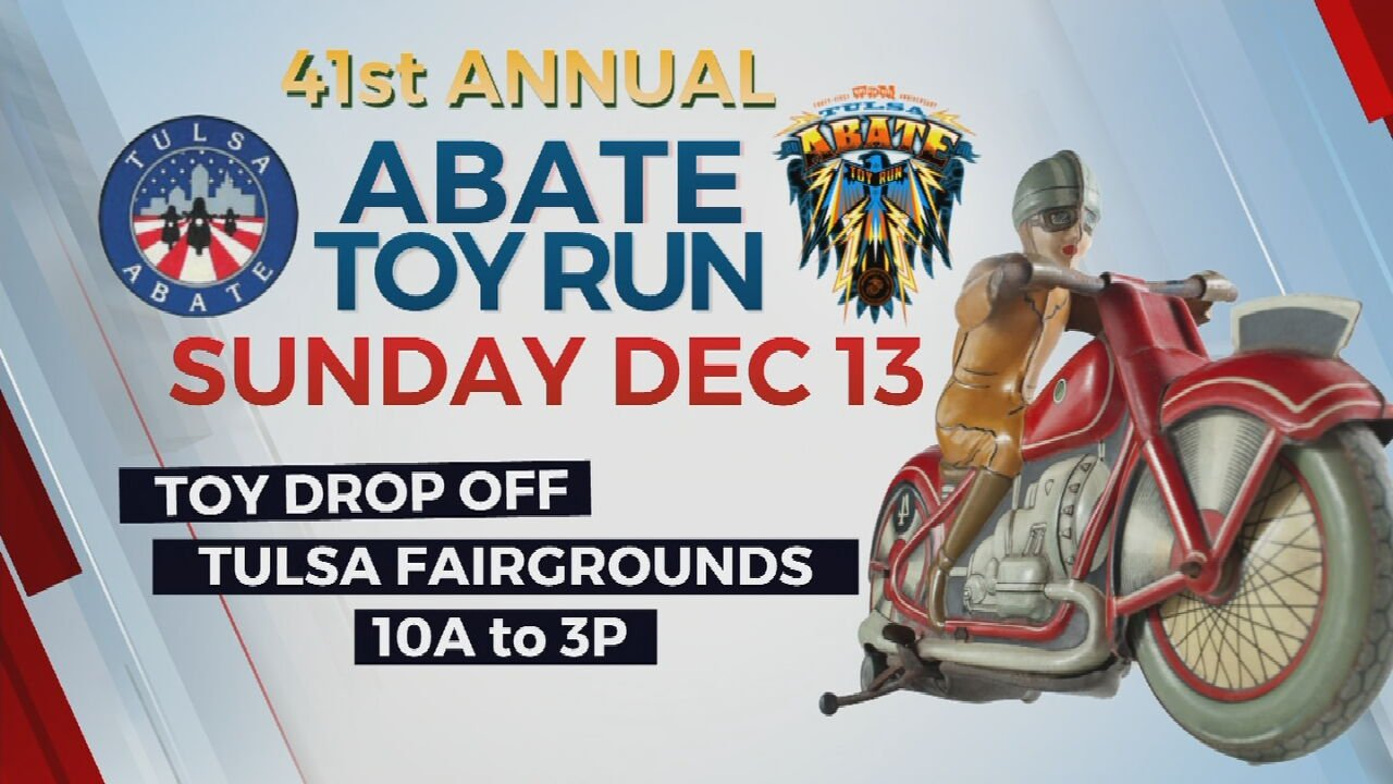 ABATE Tulsa Toy Run Organizers Cancel Annual Motorcycle Parade