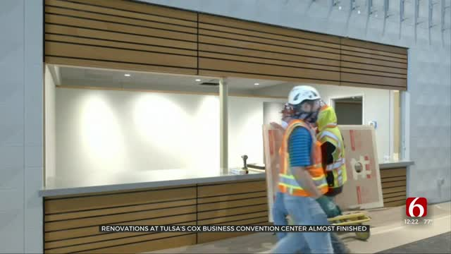 Cox Business Center Renovations Almost Completed
