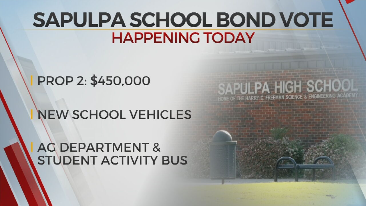 Sapulpa Voters To Decide On Bond Proposal For School District