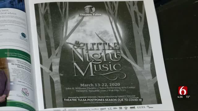 Tulsa Theatre Postponing Upcoming Season
