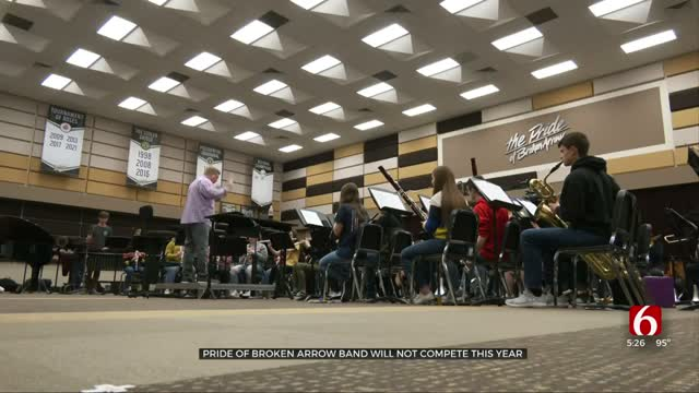 Pride Of Broken Arrow Band Will Not Compete This Year
