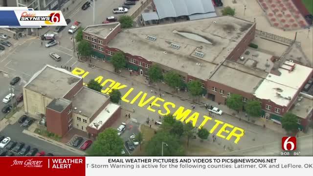 Petition Created To Keep Greenwood Black Lives Matter Mural