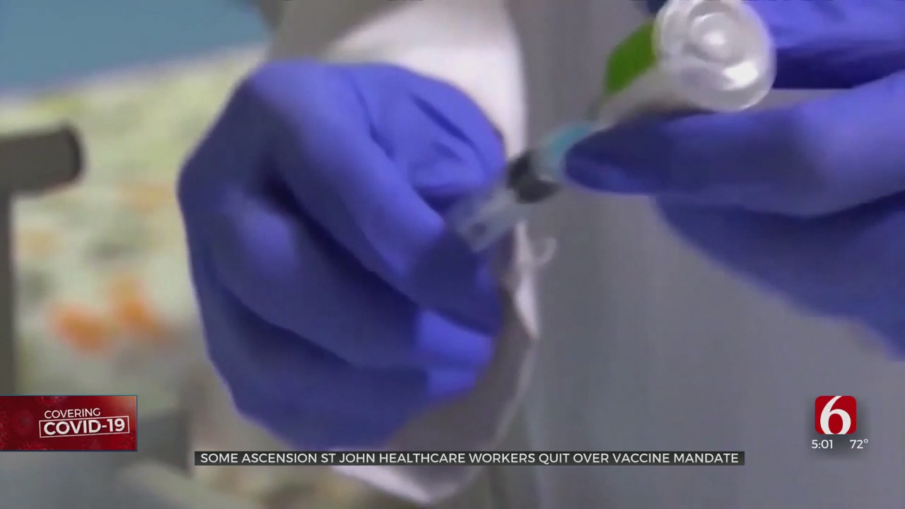 Some Oklahoma Healthcare Workers Quit Over COVID-19 Vaccine Mandate
