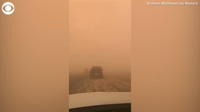 WOW: Dust Storm Sweeps Through Parts Of Arizona
