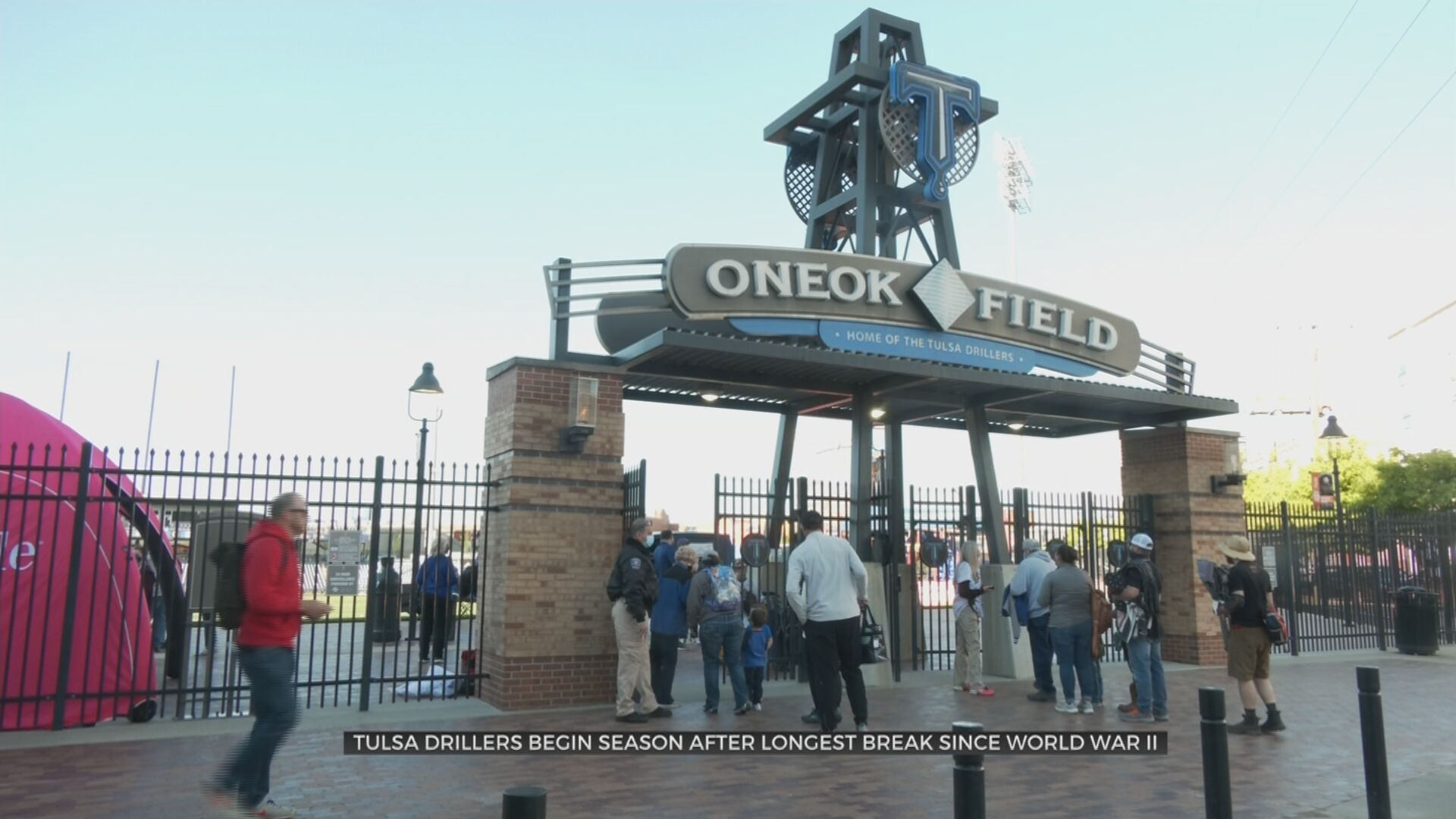 Tulsa Drillers Play Ball For First Time In Nearly 600 Days