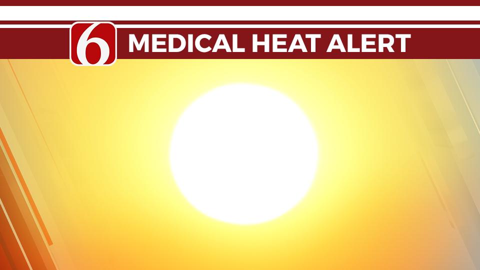 Medical Heat Alert Issued In Tulsa
