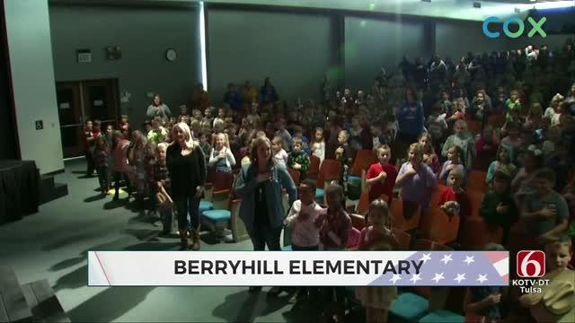 Daily Pledge: Berryhill Elementary