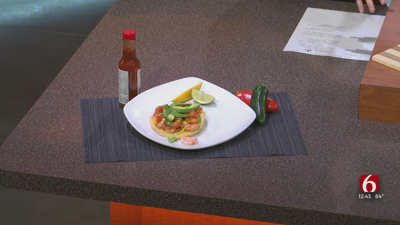 Cooking Corner: Shrimp tostada from El Paso Mexican Bar & Grill