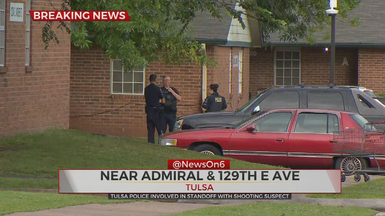 Tulsa Police Search For Suspect After Teen Injured In Shooting