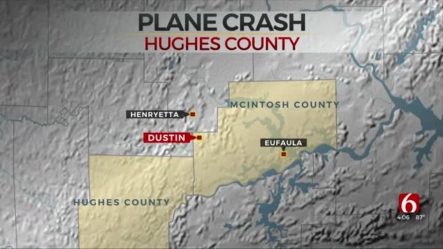 Plane Crashes In Hughes County