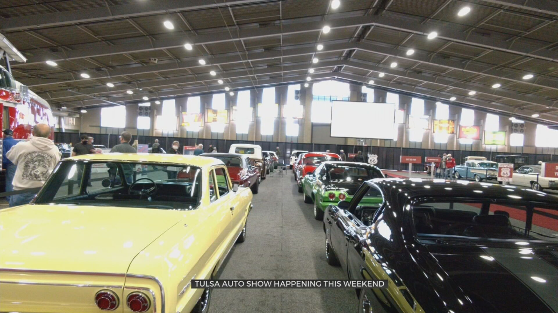 Tulsa Auto Show Returns With Classic & Brand-New Cars On DisplayNews 9