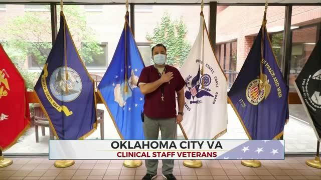 Daily Pledge: Oklahoma City VA Clinical Staff Veterans