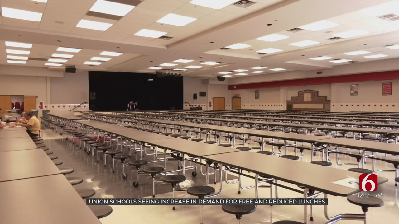 Union Schools Seeing Increase In Demand For Free, Reduced Lunches