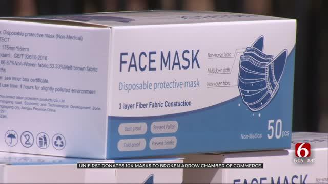 Company Donates 10,000 Masks To Broken Arrow Chamber Of Commerce