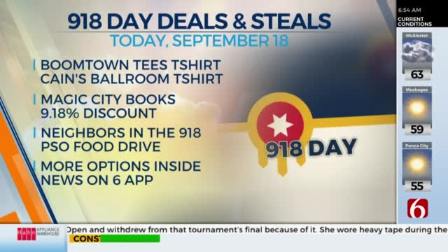 918 day deals and steals