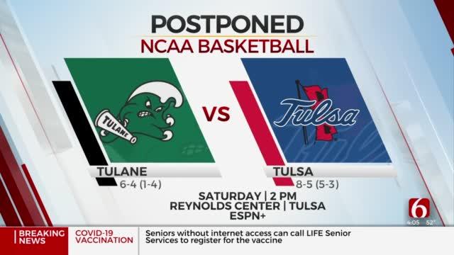 TU-Tulane Game Postponed Due To COVID-19