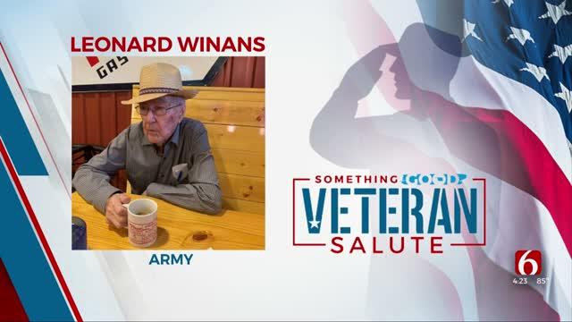 Veteran Of The Day: Leonard Winans
