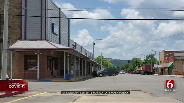 City Of Stilwell Issues Face Mask Order