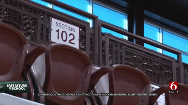 New Executive Order Limits Indoor Youth Sporting Event Attendance