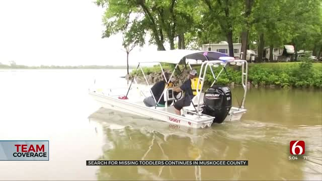 Muskogee County Agencies Assist In Search For Missing Tulsa Children