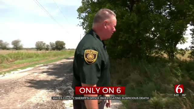 Mayes County Sheriff's Office Investigates Body Found In Ditch