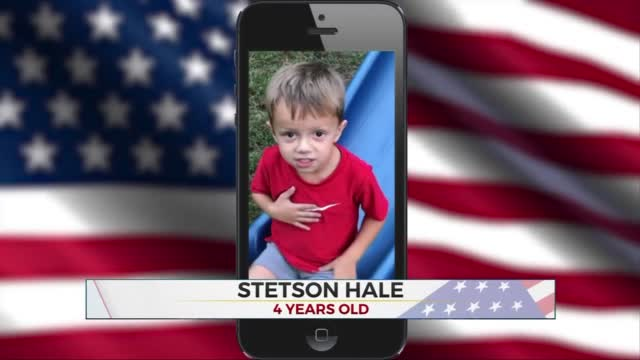 Daily Pledge: 4-Year-Old Stetson Hale