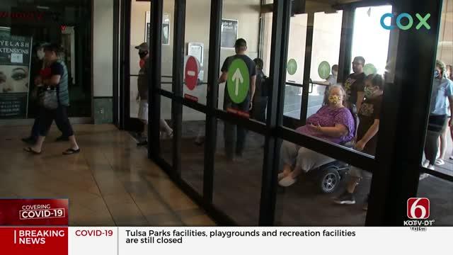 Tulsa's Woodland Hills Mall Reopens