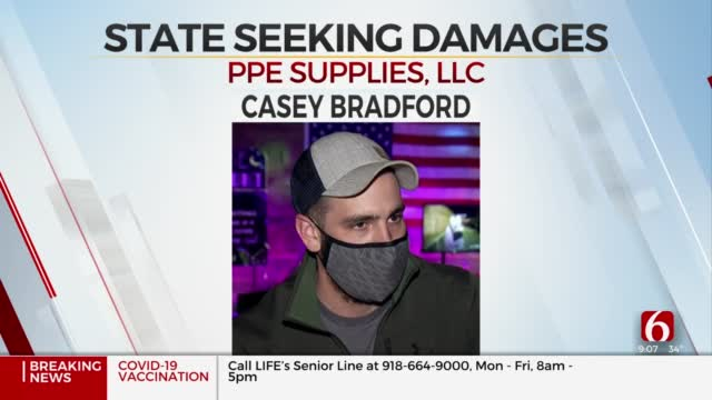 Oklahoma AG Seeks Damages After Not Receiving All Promised PPE