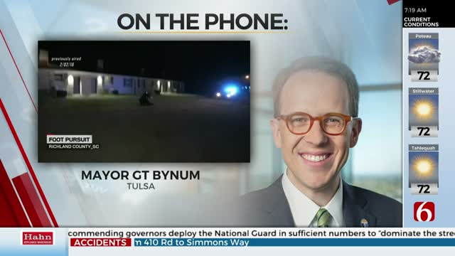 Watch: Tulsa's Mayor G.T. Bynum Discusses Challenges Facing City