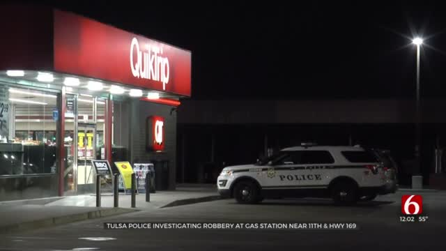 Police Search For Suspect Involved In Armed Robbery At Tulsa Gas Station