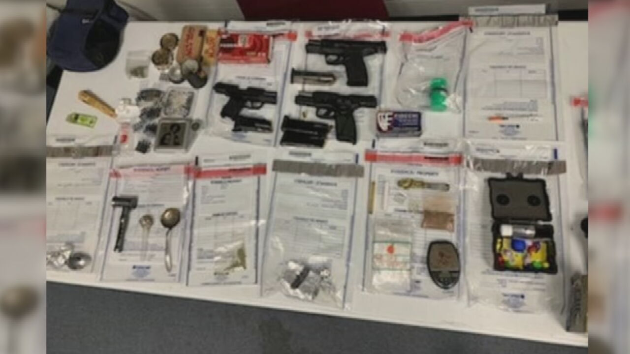 2 In Custody After Wagoner County Drug Bust Uncovers Guns, Heroin