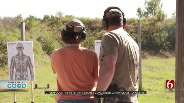 Local Veteran Teaches Concealed Carry Class To Empower Women
