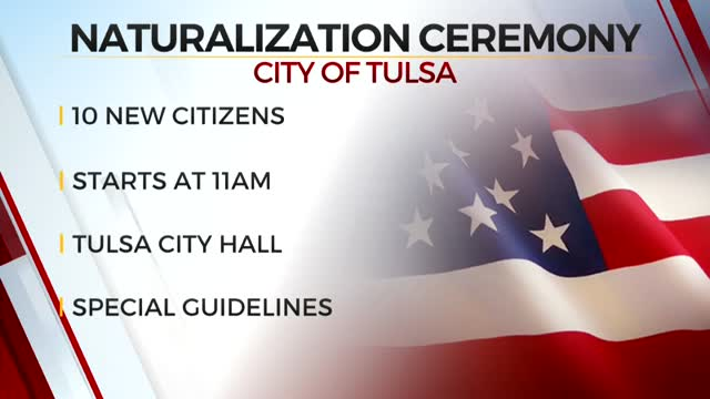 City Of Tulsa To Host First Naturalization Ceremony Since Pandemic