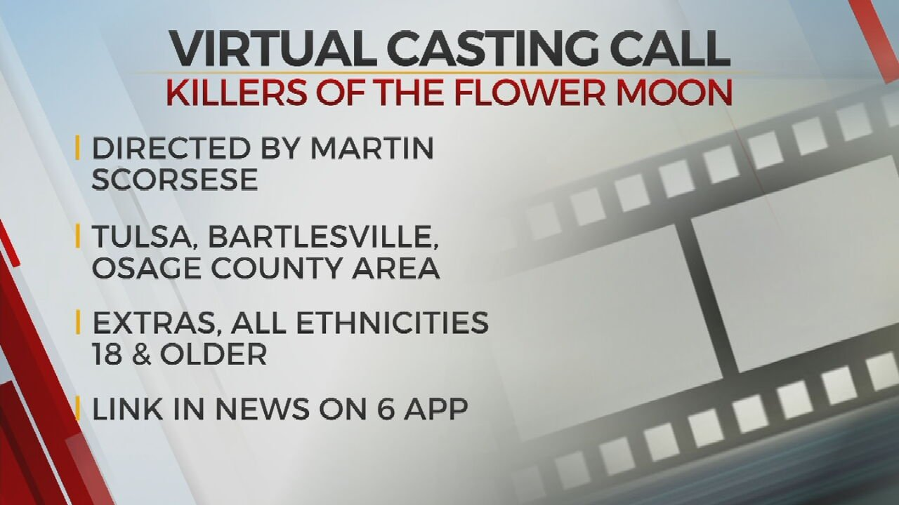 Virtual Casting Call For Killers Of The Flower Moon Movie; Production Set To Begin In Spring