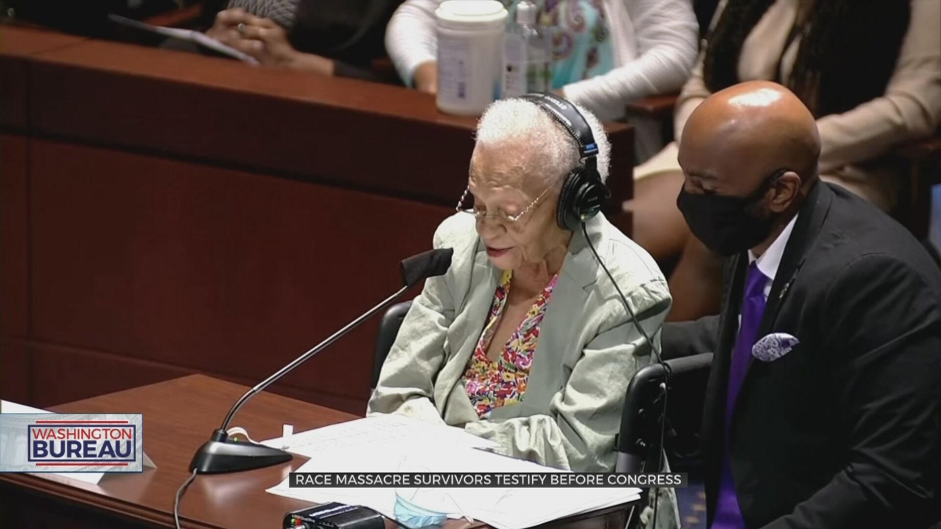 Tulsa Race Massacre Survivors Plead For Justice, Reparations In Washington