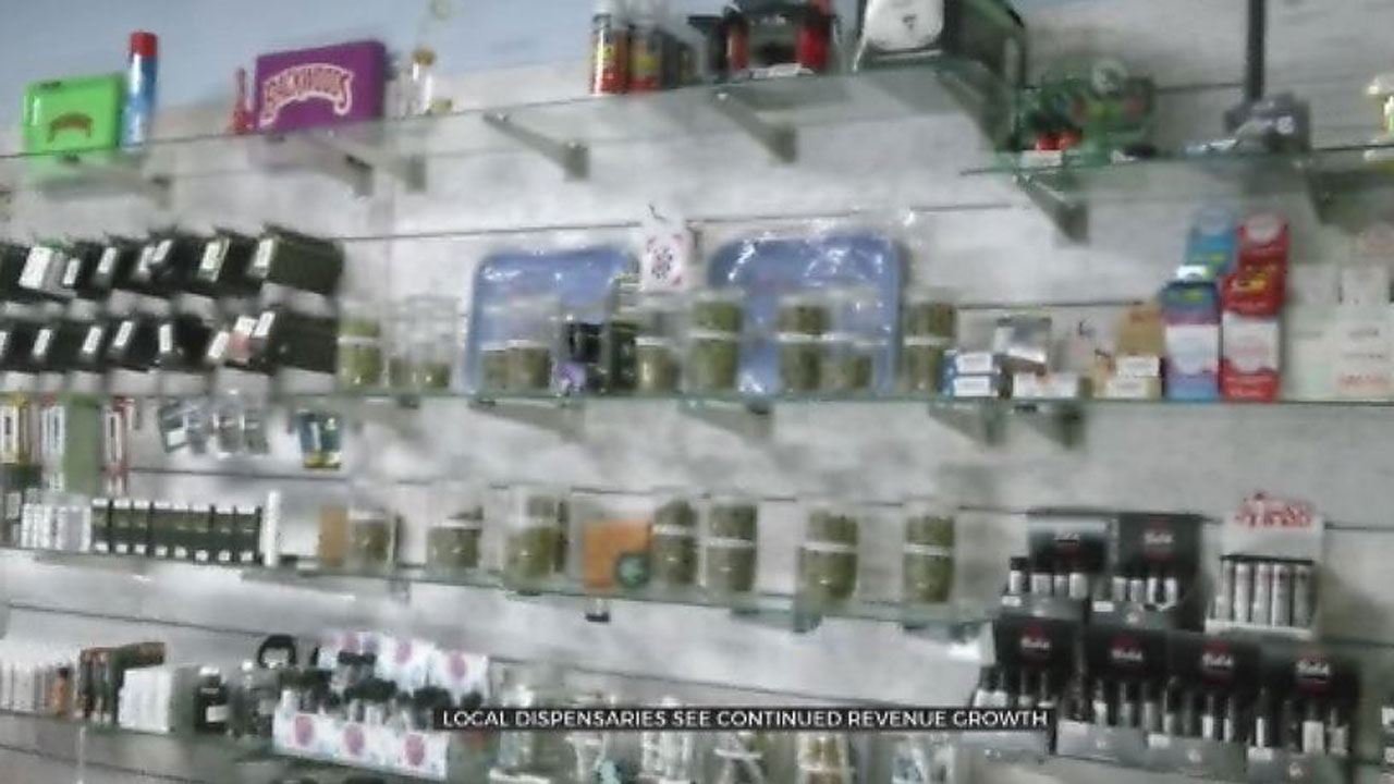 Latest Figures Show Medical Marijuana Sales Are On The Rise In Oklahoma