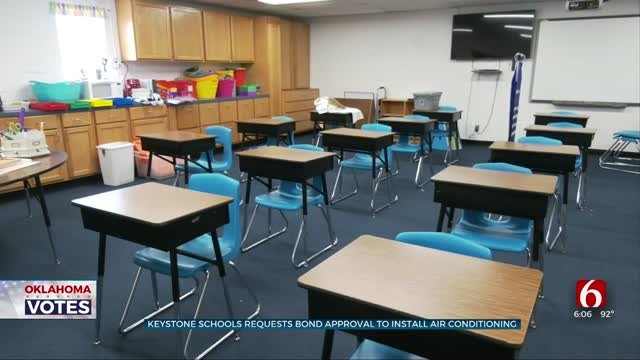 Bonds For Keystone Public Schools Would Provide Air Conditioning, Security Updates, Buses