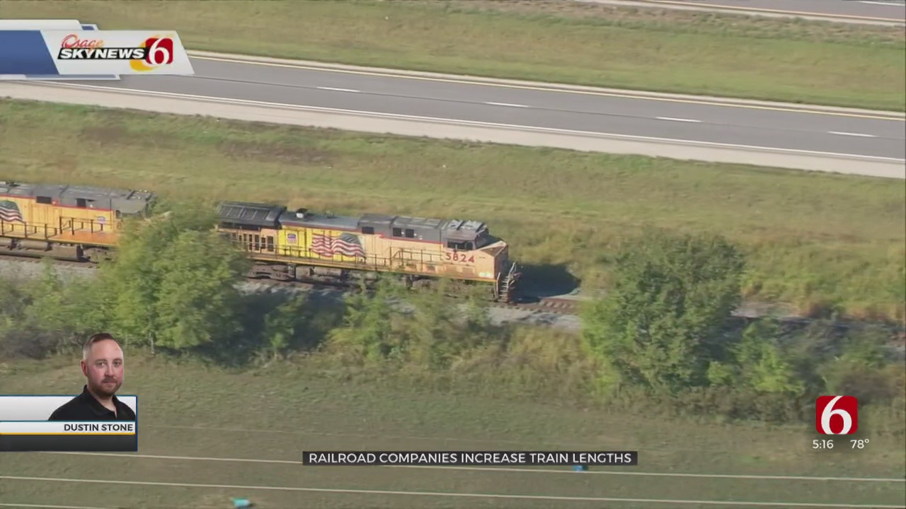 Railroad Companies Increase Train Lengths, Causing Longer Wait Times For Drivers