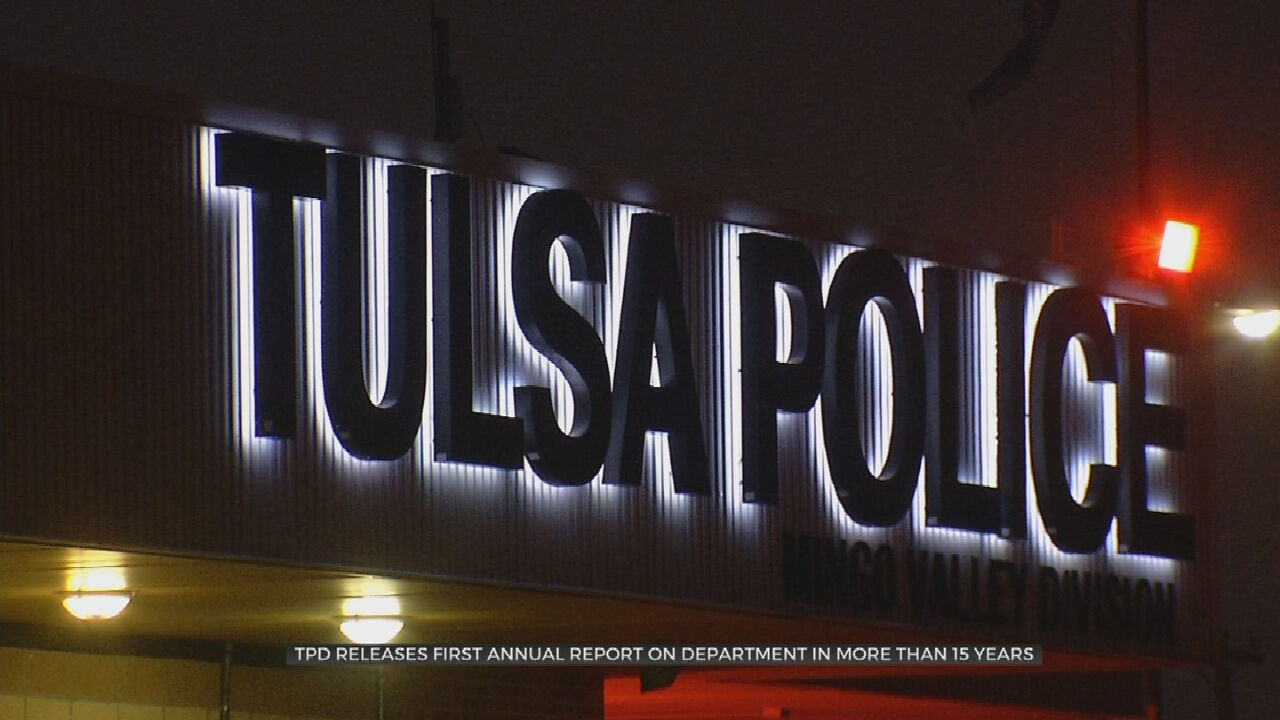 Tulsa Police Department To Begin Issuing Annual Performance Reports
