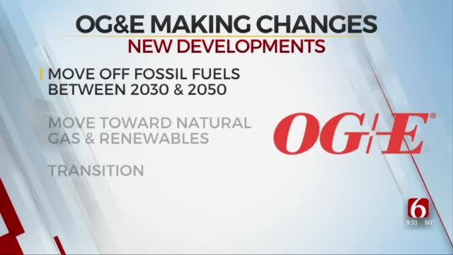 OG&E Announces Goal To End Reliance On Fossil Fuels