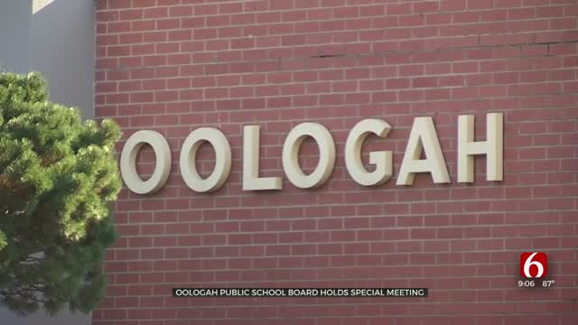 Oologah School Board Holds Special Meeting, Deliberates Future Of Superintendent