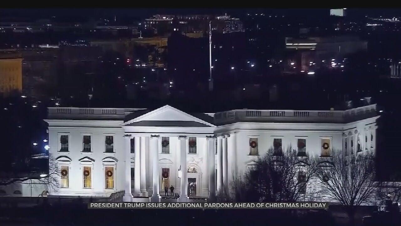 President Trump Grants More Pardons, Including For Paul Manafort, Roger Stone & Charles Kushner