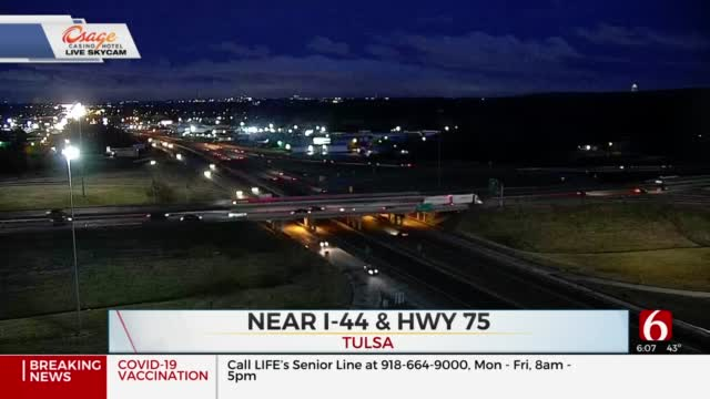 Redevelopment Project At I-44 & Highway 75 Begins Monday