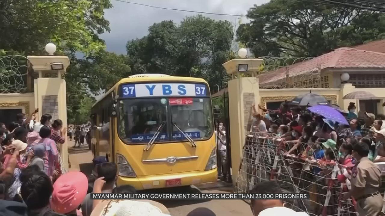 Myanmar Junta Pardons Prisoners, To Attend Regional Summit