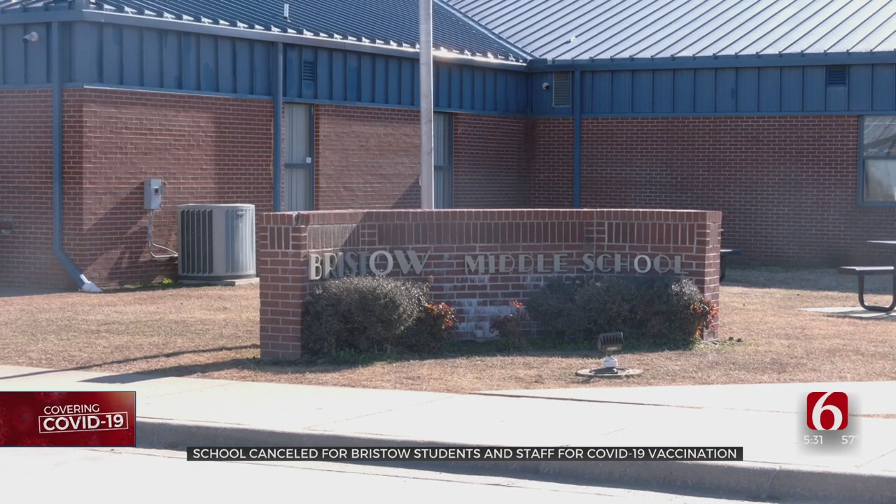 Bristow Schools Out To Start Week; Teachers, Staff To Receive COVID Vaccinations