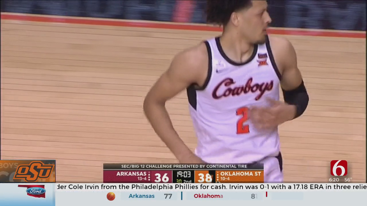Cunningham Returns To Lead Oklahoma State Over Arkansas
